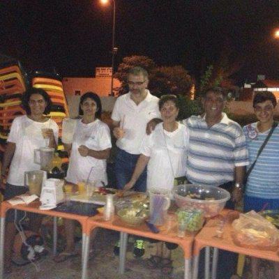 בבריכה העירונית עם סיירת הורים וראש העיר בערב שייקים