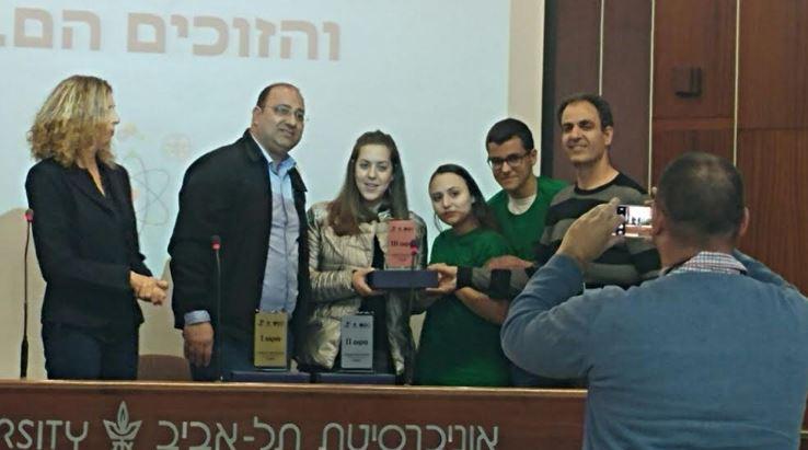 תלמידים מבית שאן זכו במקום השלישי בגמר פרויקט קדם עתידים