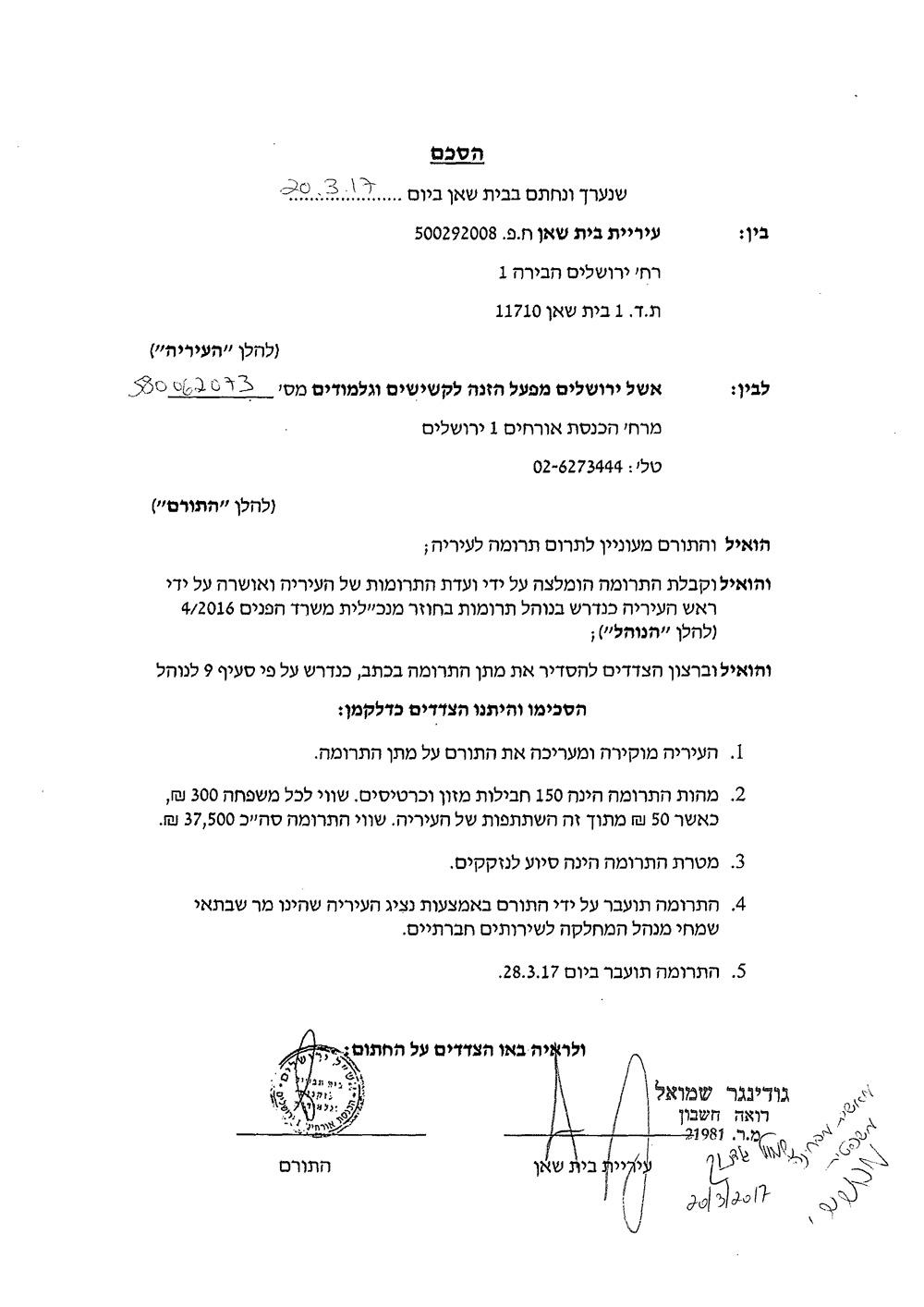 הסכם-תרומת-אשל-ירושלים-חתום