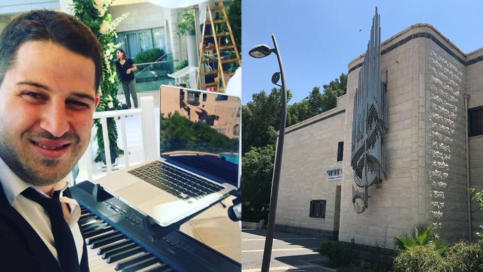 עומר גבאי הוא המנהל החדש של בית המוזיקה בבית שאן
