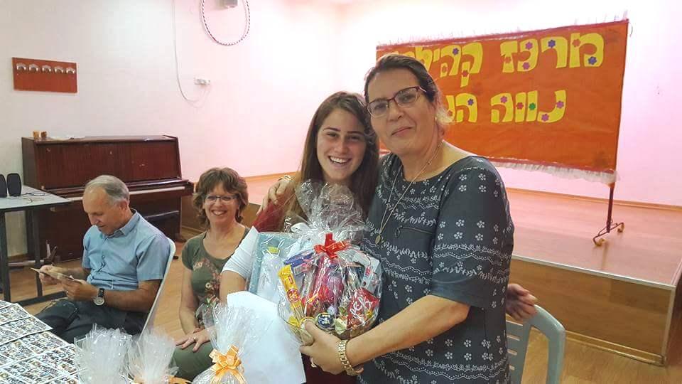 ברכה בלוך מסיימת את שירותה בבית שאן 1